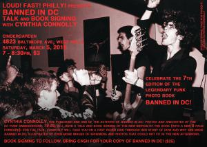 Flyer For the Cynthia Connolly Event by Karen K.