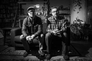 Scott Crawford and Jim Saah by Karen Kirchhoff