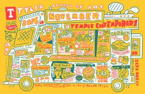 Tyler November 2016 calendar with L!F!P!