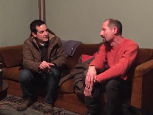 Vincent Feldman and Joseph. Photo by Doug Polgardy.