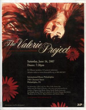 Valerie Project Flyer