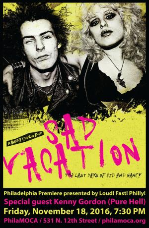 SAD VACATION documentary poster