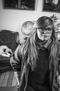 Ryann Casey portrait by Karen Kirchhoff