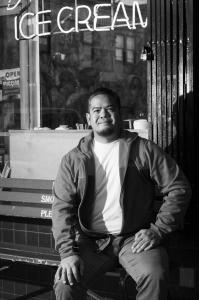 Sean Gustilo portrait by Karen Kirchhoff