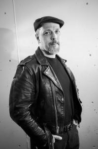 Portrait of Adam Avery of Decontrol – Photograph by Karen Kirchhoff